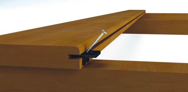 batijournal fixation invisible pour lames de terrasse batijournal. Black Bedroom Furniture Sets. Home Design Ideas