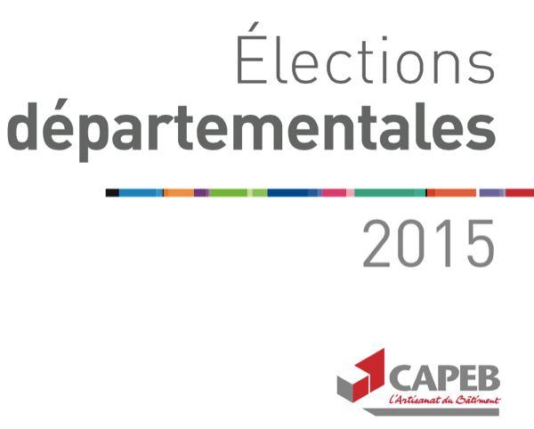 élections départementales CAPEB
