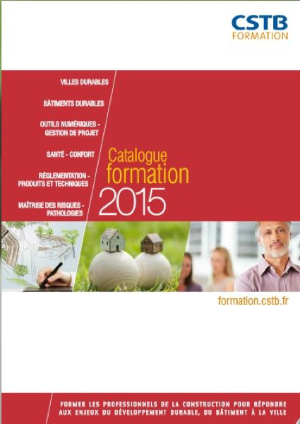 Catalogue formation 2015