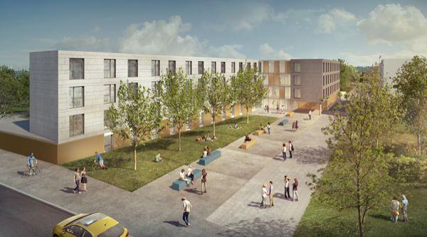 chantier résidence étudiante