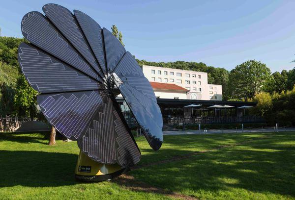 fleur photovoltaïque