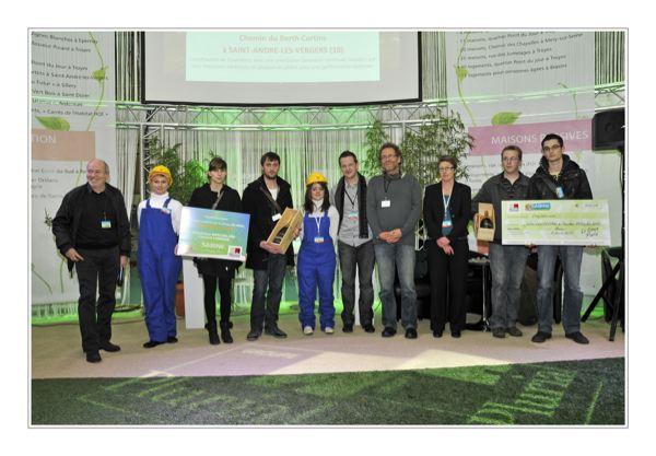 """Tous les lauréats du concours d'architecture européen """"Sweet Eco Home"""" de Sabine"""