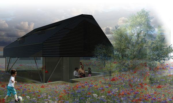 """Premier Prix : Frédérique Barchelard et Clément Lobbens - Ecole nationale supérieure d'architecture de Paris La Villette - """"Pitch House"""""""