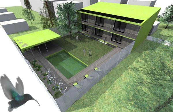 """Troisième Prix : Alice Decoq – Ecole nationale supérieure d'architecture de Toulouse – """"Home Sweet Home"""""""