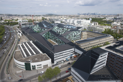 Construction du ministère de la Défense - Balard. Paris. 75015. 4 Avril 2015