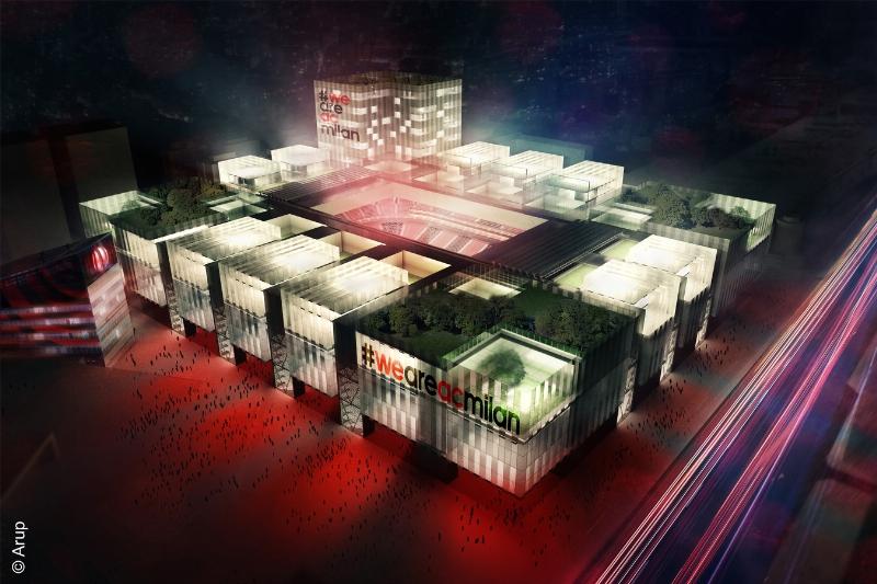 Projet du nouveau stade du Milan AC