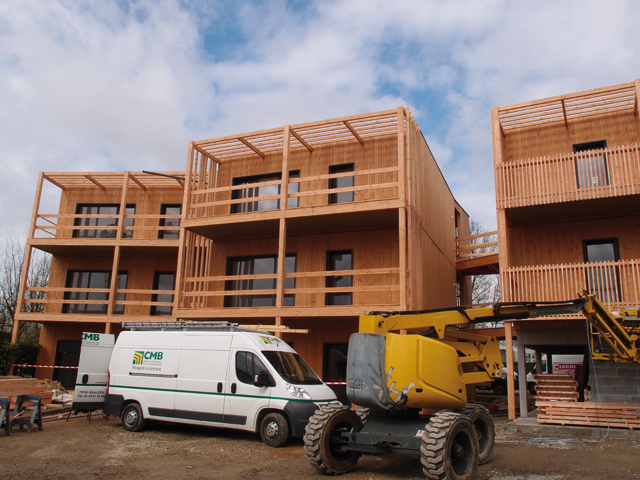 Le chantier de Saint-Herblain. Photo: W.S.