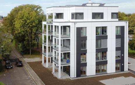 Batijournal construction bois innovante sur cinq tages kehl batijournal for Construction en bois 6 etages