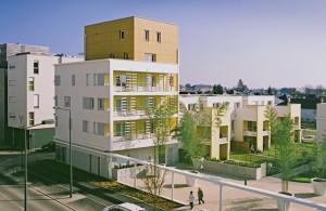 Au nord de Tours, le nouvel écoquartier de Monconseil devrait, à terme, accueillir plus de 3000habitants. Photo: Frédéric Paillet