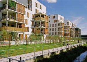 Mixité, densité et qualité des espaces de vie pour le quartier des Deux-Lions, un nouveau cœur de ville en bordure sud du Cher. Photo: Frédéric Paillet