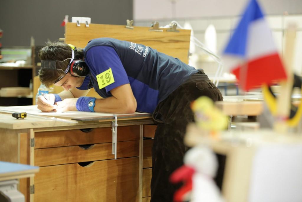 Clément VicardPhoto: WorldSkills France – Daniel LeStanc