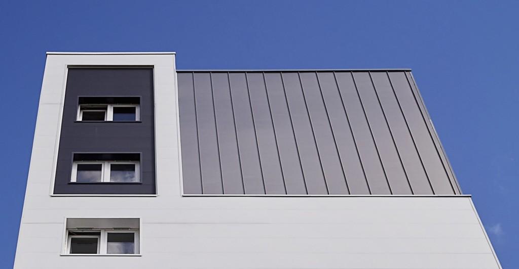myral, panneaux, isolants, PVC, aspect, joint, debout