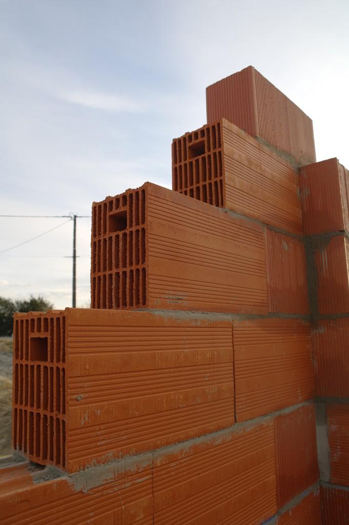 brique, structure, Neobric, Terreal