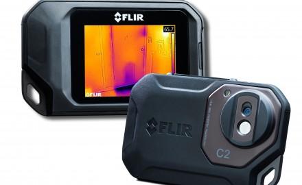 Caméra, thermique, Flir, C2, Flir, Systems