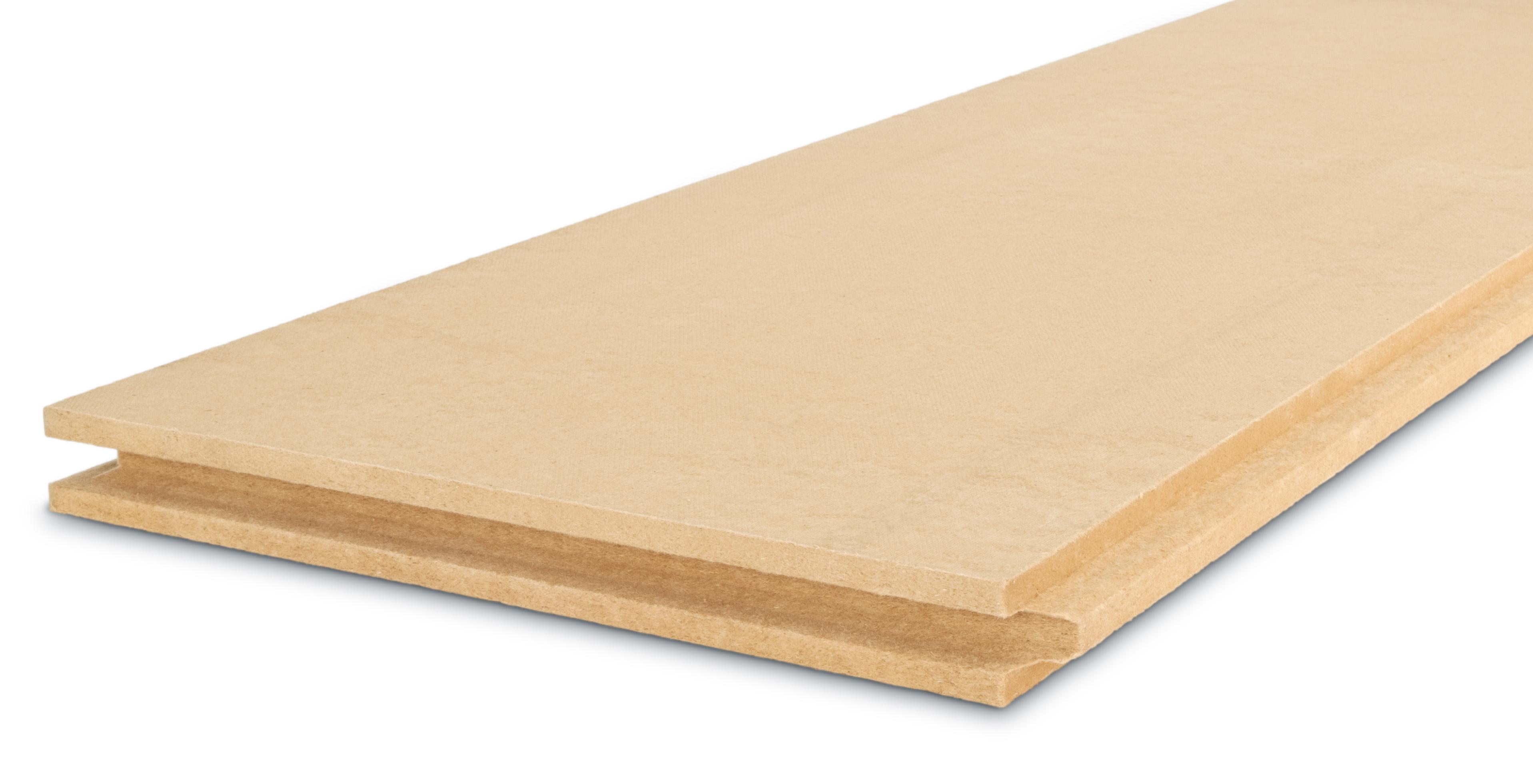 Batijournal Panneau en fibres de bois pour toiture et  ~ Panneau Fibre De Bois