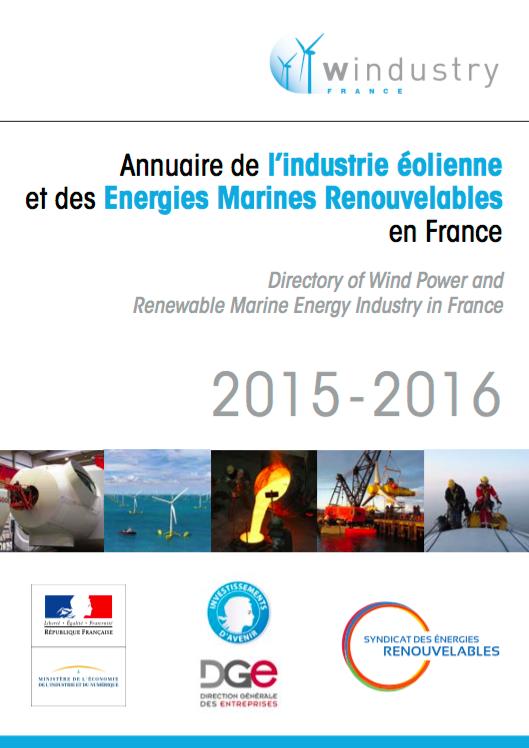 annuaire des acteurs industriels français de la filière éolienne