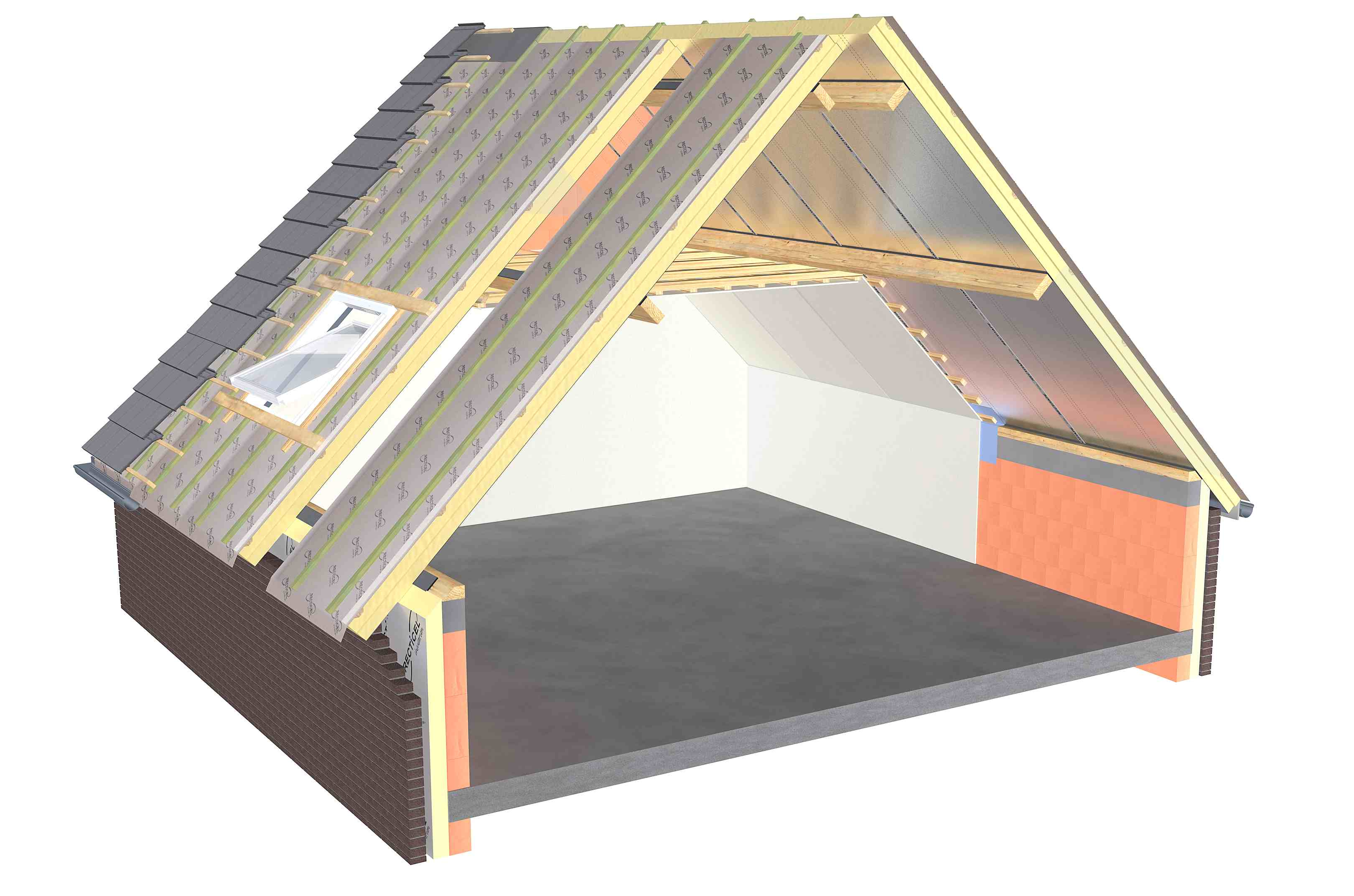 L-Ments, Recticel, Insulation