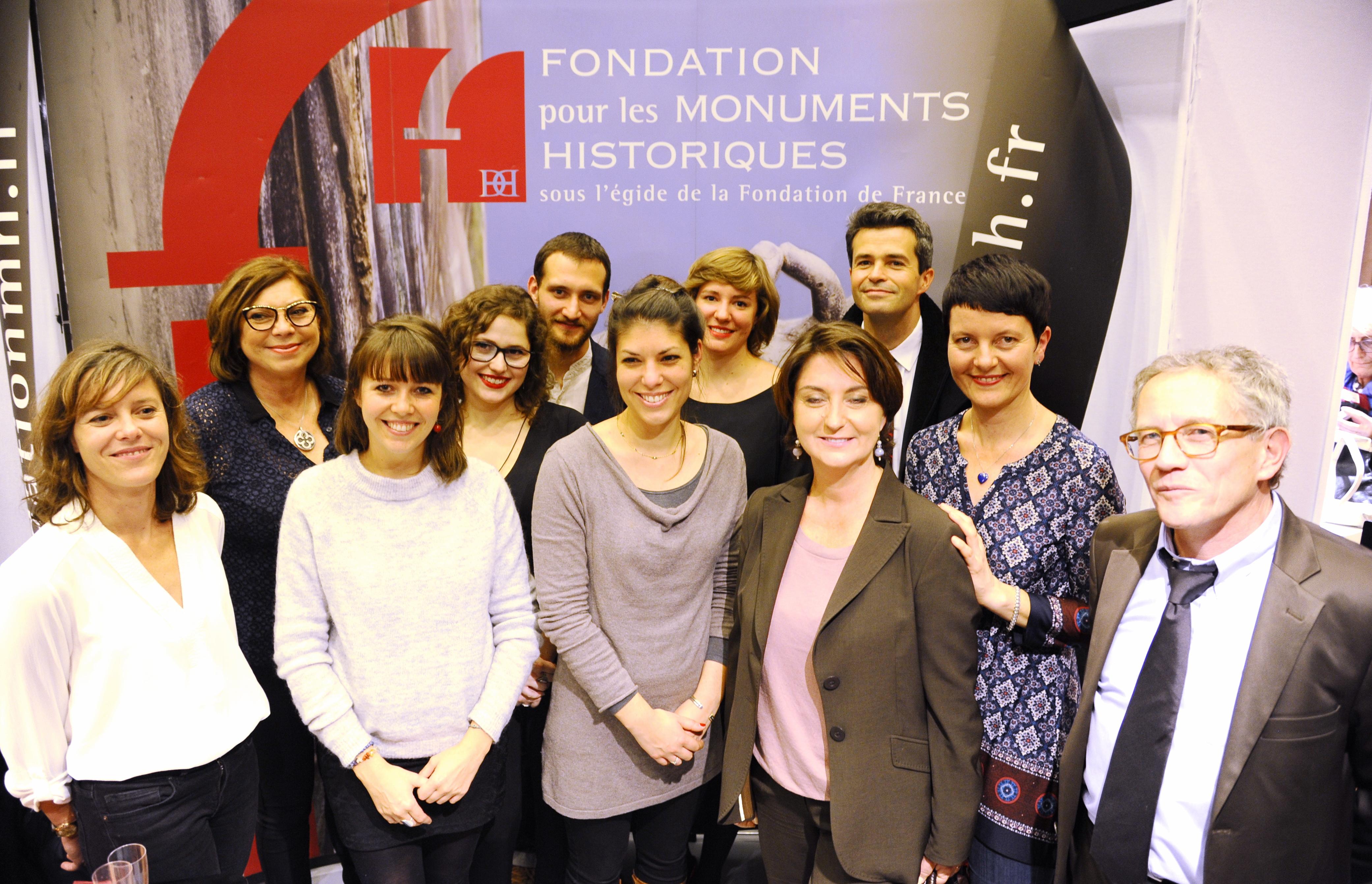 Fondation DH, Salon du Patrimoine Culture, Carrousel du Louvre 4 nov 2015 © Laurence de Terline