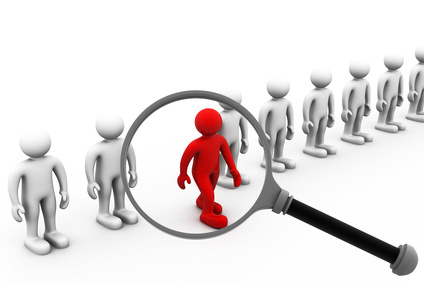 Job search and career choice employment concept