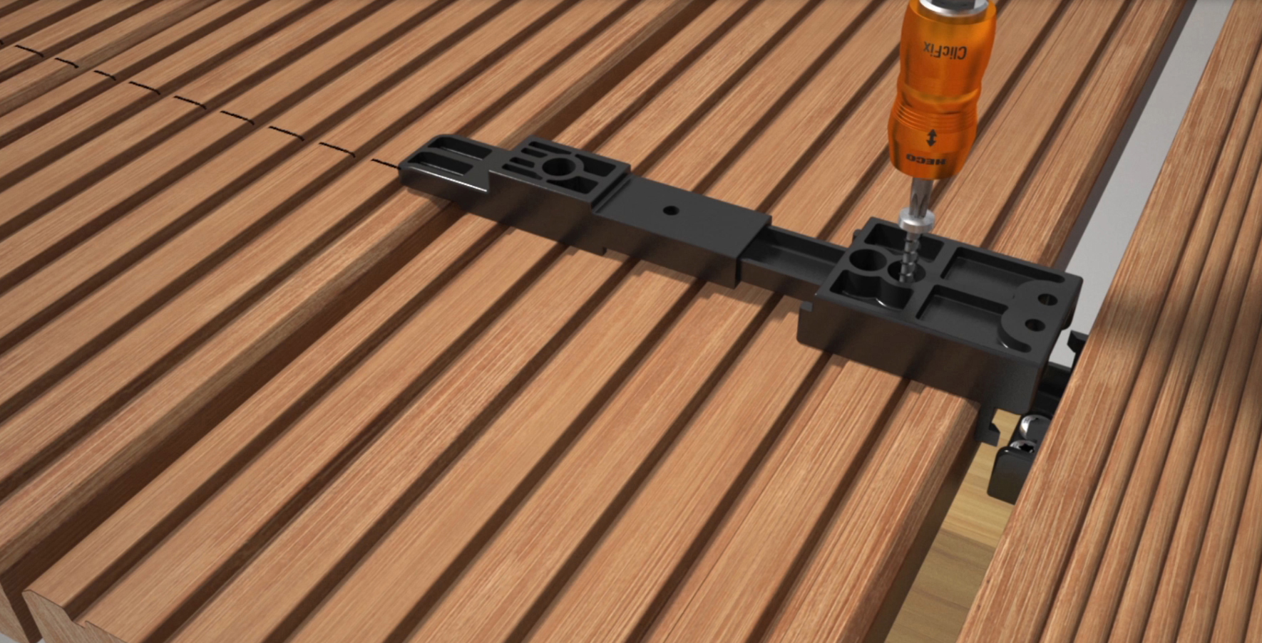 batijournal fixation invisible de lames de terrasse With fixation lame de terrasse composite