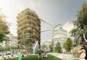 Ternes-Villiers (17e), Lauréat : « La Ville multi-strate »