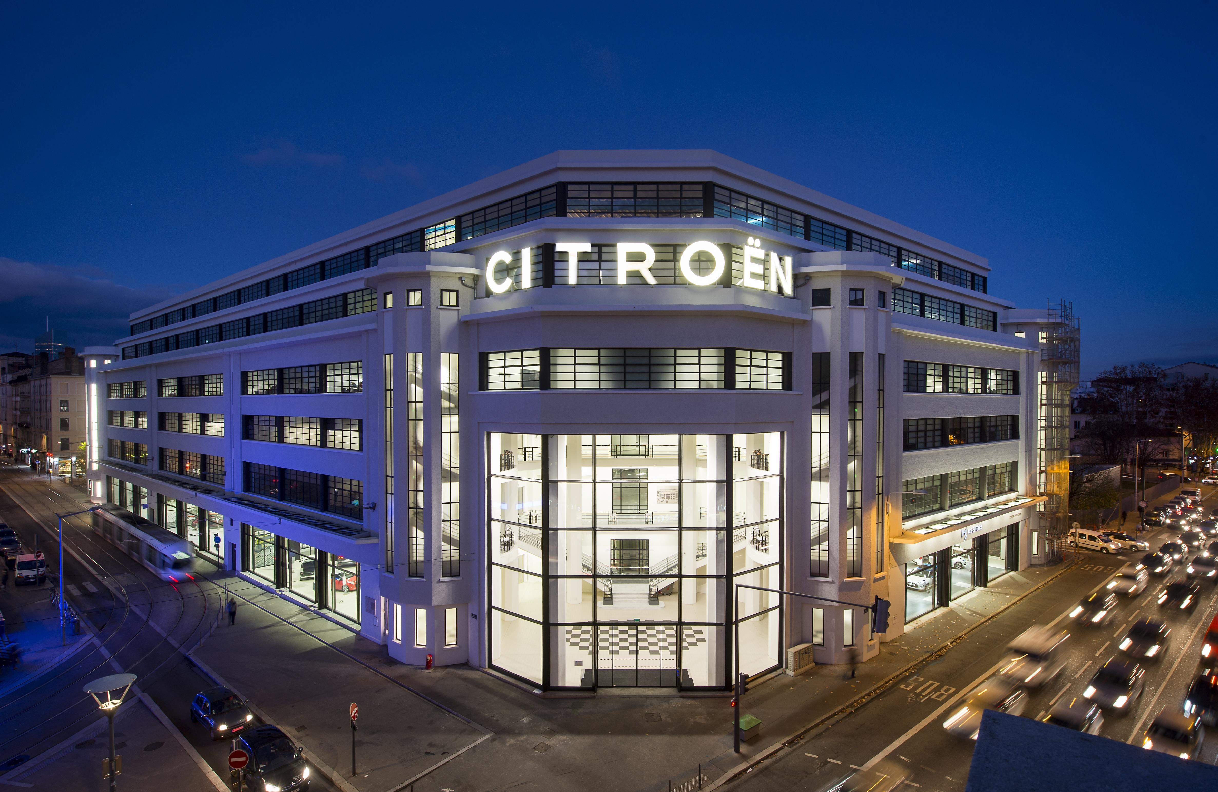 garage, Citroën, réhabilitation, reconversion