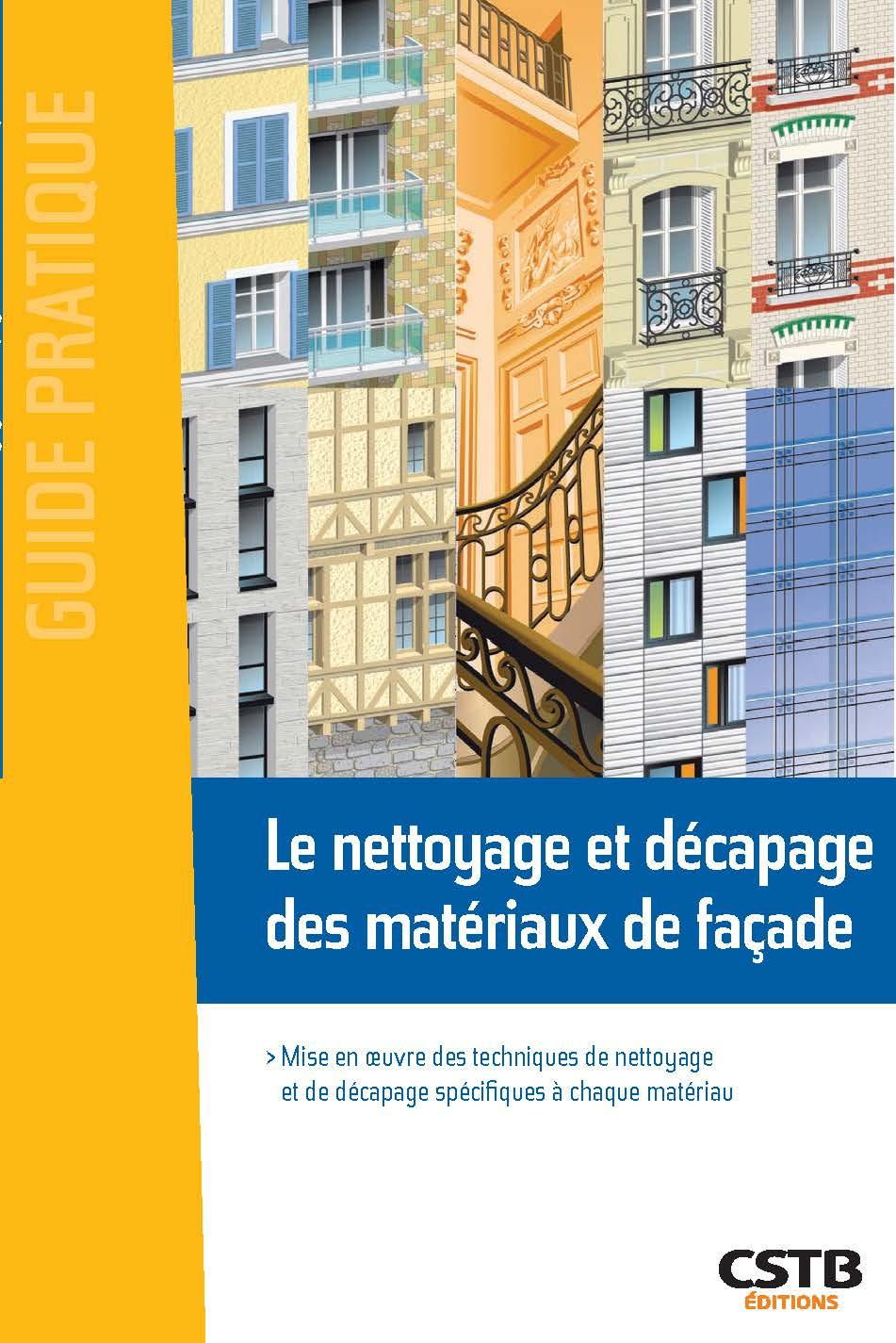 Couv GP Nettoyage et décapage des matériaux de facade