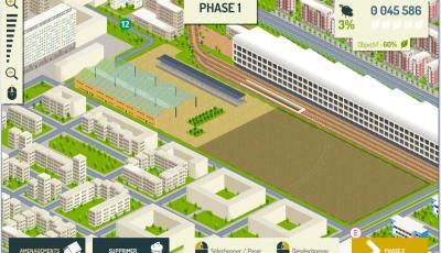 dessin en ligne parc paris