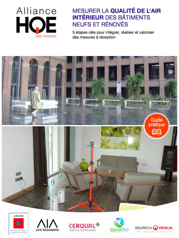 batijournal guide qualite de l air interieur alliance hqe batijournal. Black Bedroom Furniture Sets. Home Design Ideas