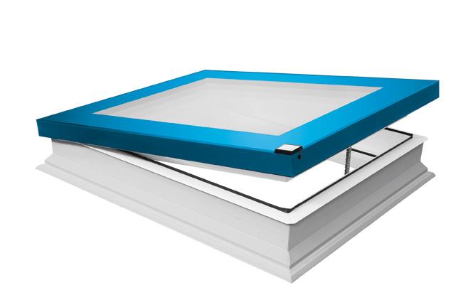 Fakro pr sente la fen tre pour toits plats type f for Fenetre quadruple vitrage