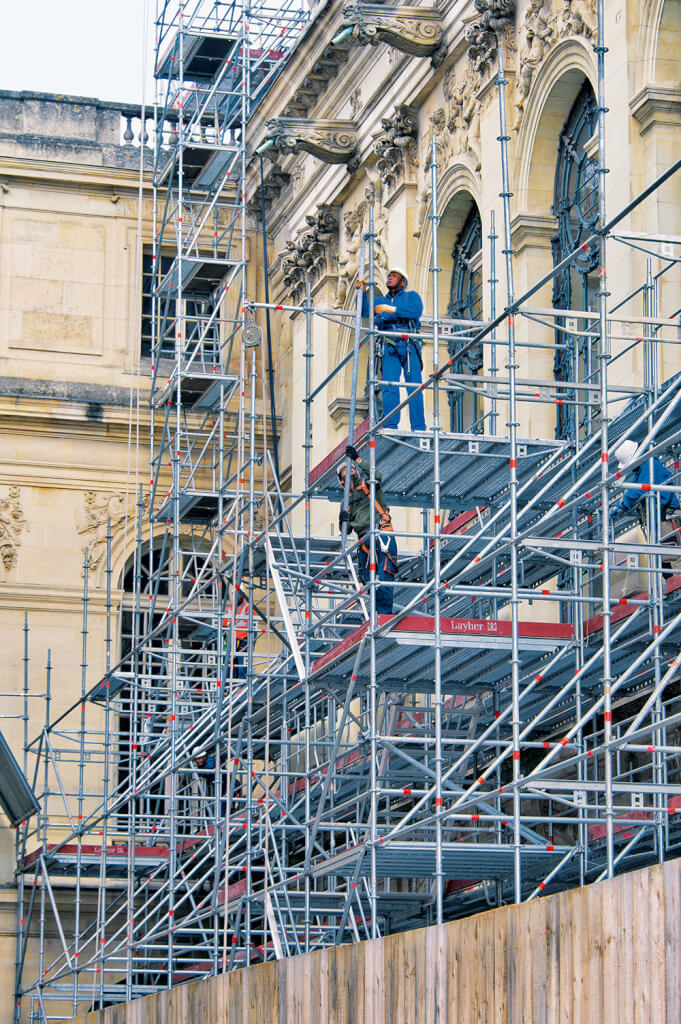 restauration la chapelle royale
