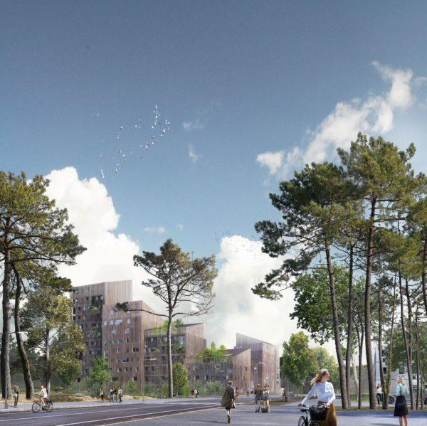Les Bois d'Angers : immeuble à vivre en Bois