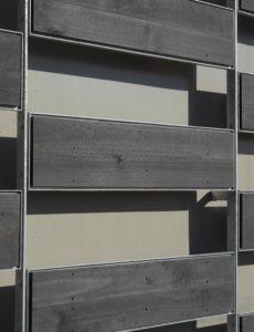 Accoya, façade