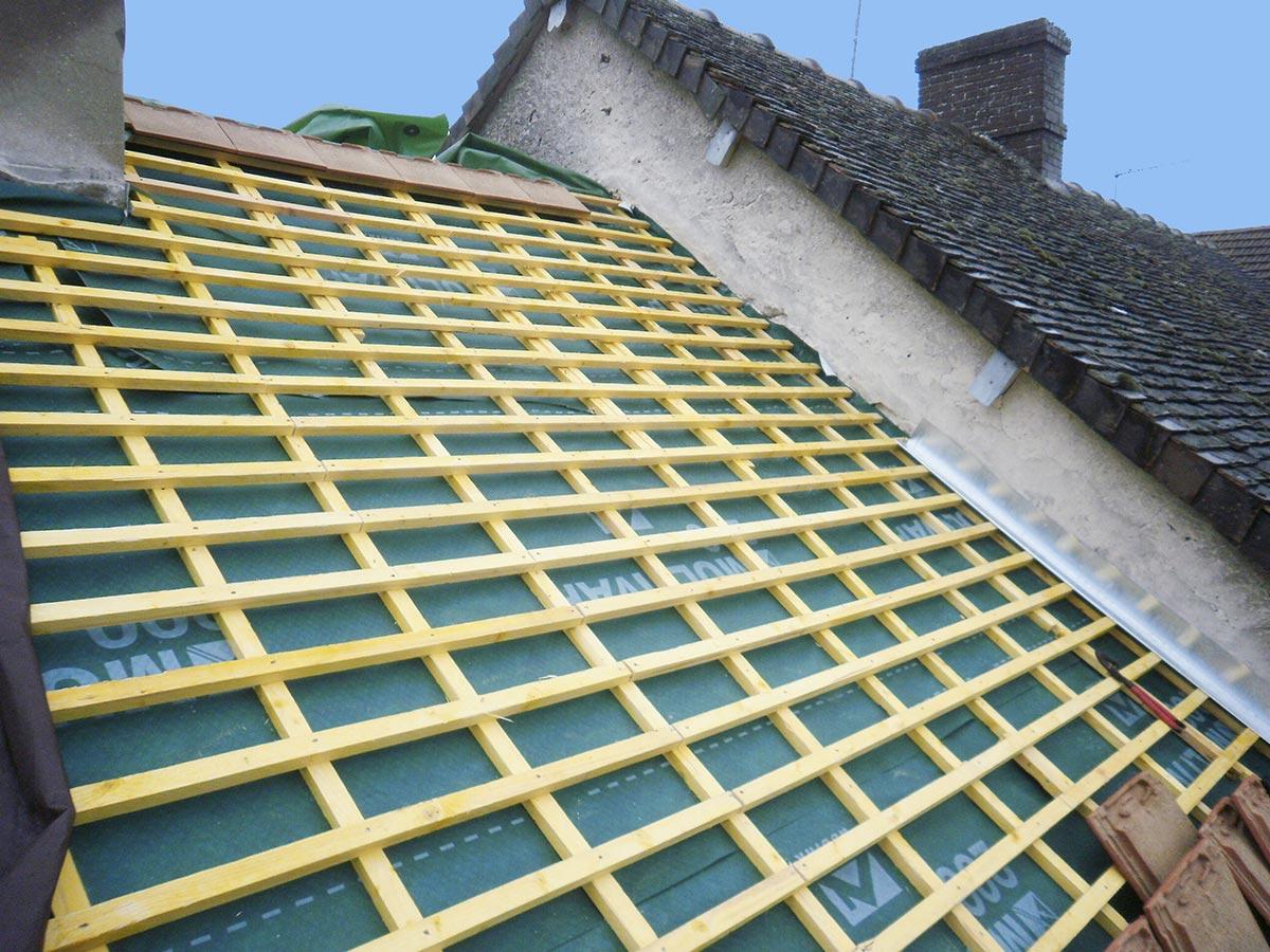 Batijournal r novation de couverture avec un cran de sous for Entreprise de renovation interieur
