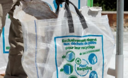 big bag recyclage placo