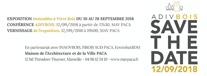batijournal adivbois le vivre bois marseille du 10 au 28 septembre 2018. Black Bedroom Furniture Sets. Home Design Ideas