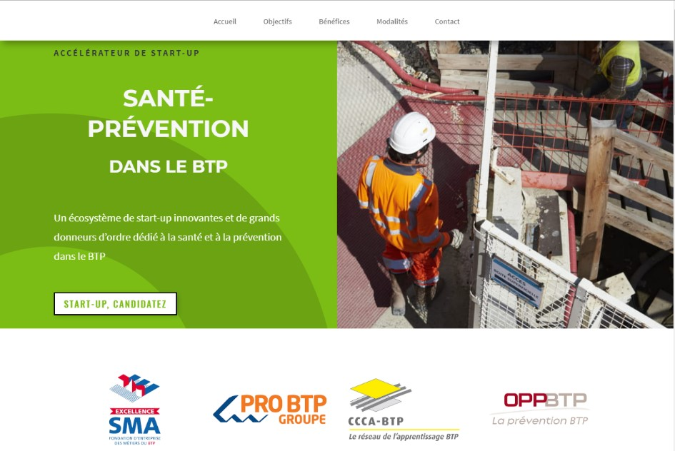 Sante – Prevention dans le BTP