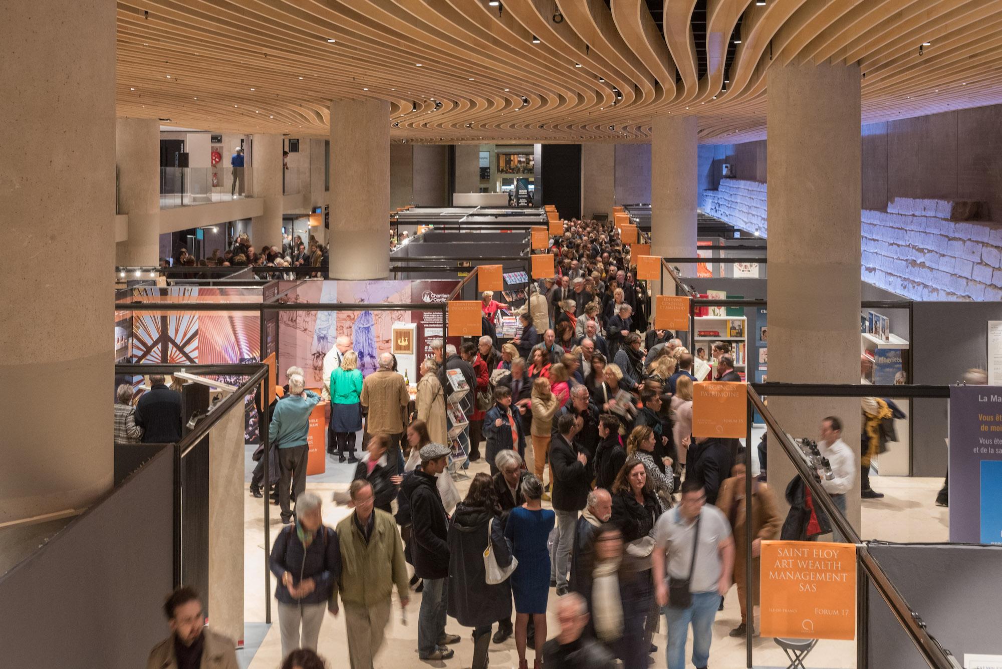 Salon international du patrimoine culturel : découvrez les exposants