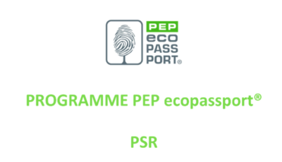 PEP Ecopassport by association PEP