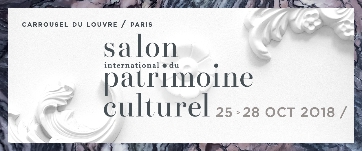 Votre invitation à la 24e édition du salon international du patrimoine culturel