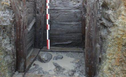 inrap fouilles saint flour agglomeration gauloise puits