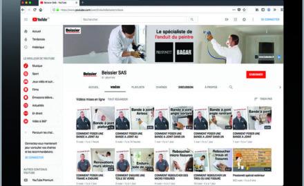 beissier tutoriels chaine youtube