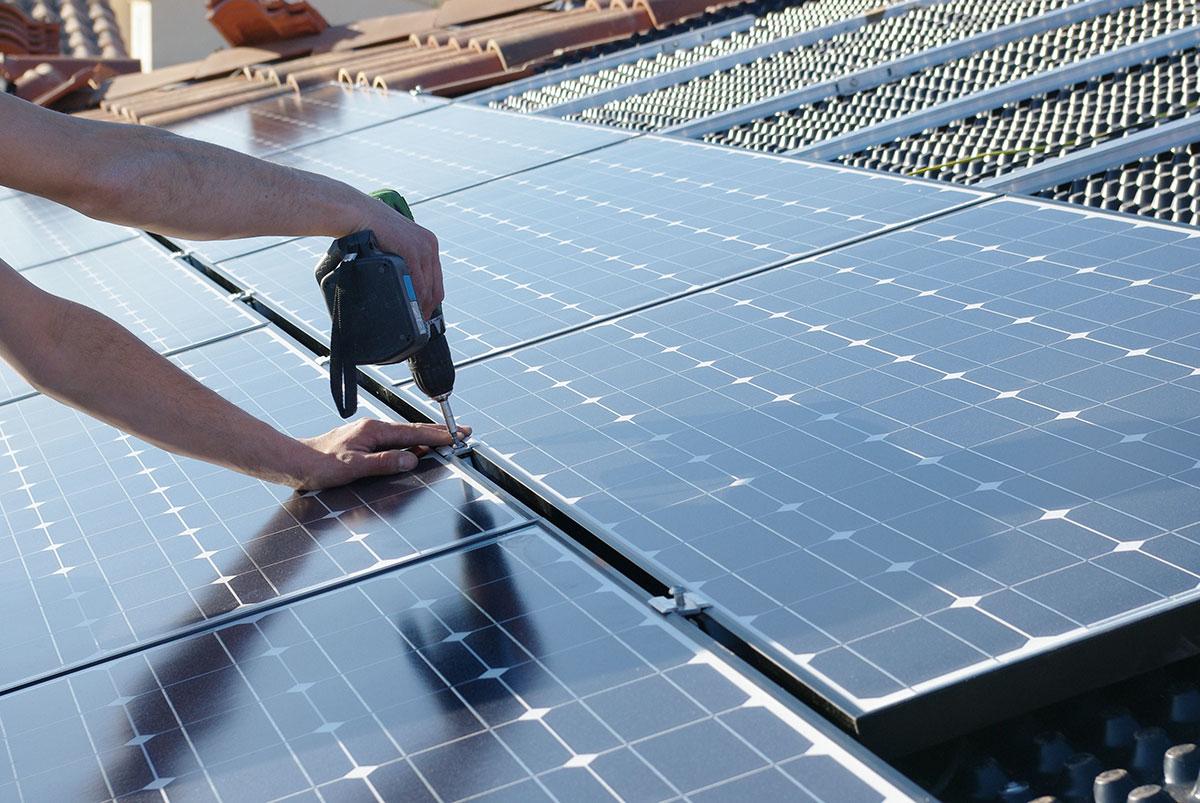 Fixations pour les énergies renouvelables