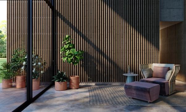Nouvelles solutions architecturales en bois massif pour les murs et plafonds