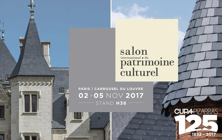 CUPA PIZARRAS au salon international du patrimoine culturel 2018