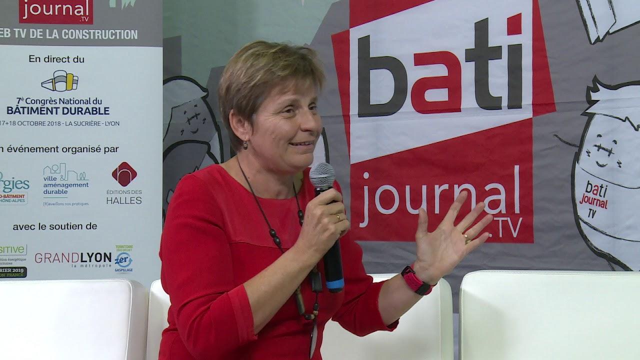 Interview de Béatrice Vessiller, Vice-présidente Métropole de Lyon Chargée de la rénovation de l'habitat