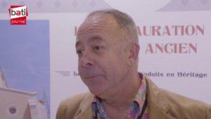 La gamme d'enduits Georges Weber pour le patrimoine présentée par Dominique Oliveira