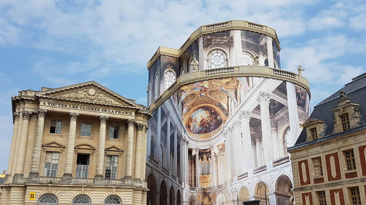 Layher : Restauration de la chapelle royale, Layher s'installe au château de Versailles – Publi-information