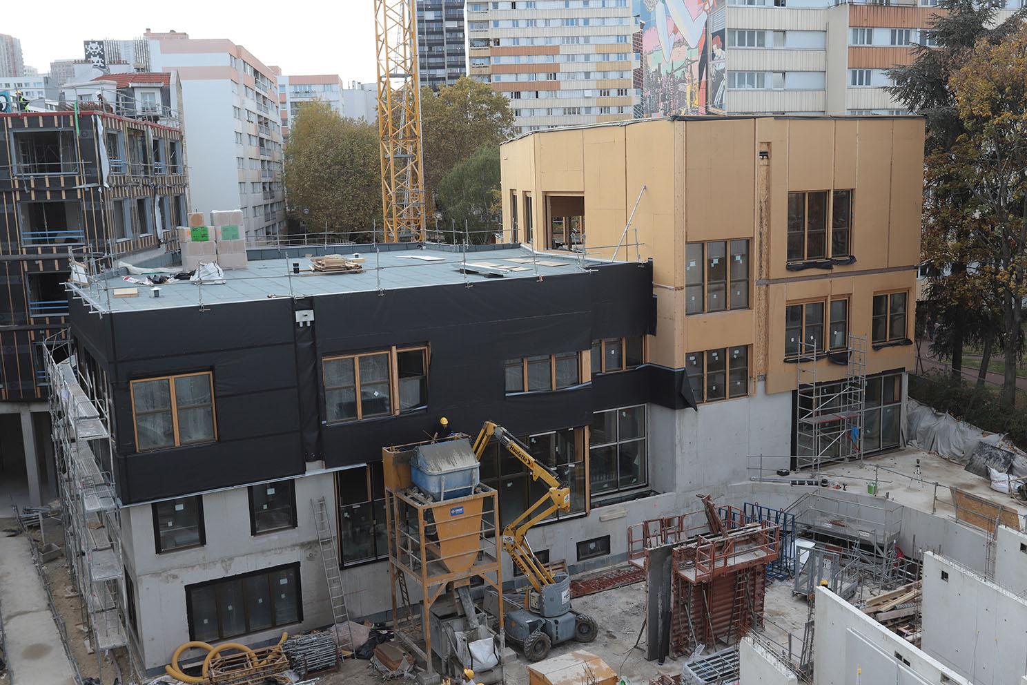 Une toiture-terrasse innovante pour une école maternelle parisienne
