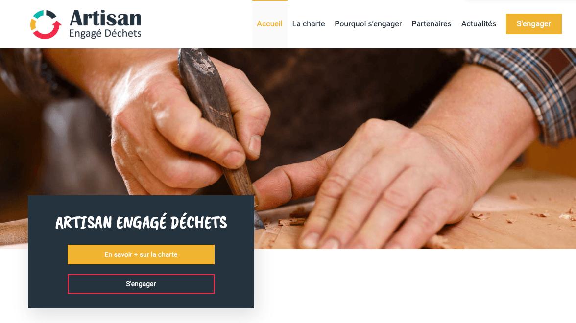 « Artisan Engagé Déchets », la Capeb met un site en ligne